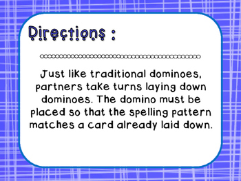 Words Their Way - Letter Name Alphabetic - Sort 45 Dominoes
