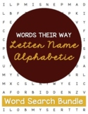 Words Their Way Letter Name Alphabetic--Word Searches