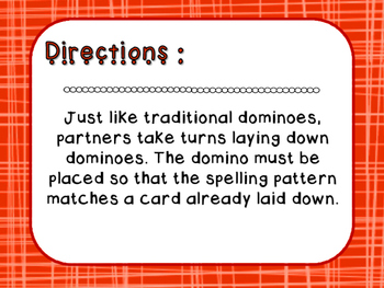 Words Their Way - Letter Name Alphabetic - Sort 9 Dominoes