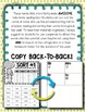 Words Their Way -- Letter Name Alphabetic Homework Sorts & Lists