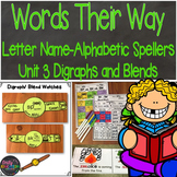 Words Their Way Letter Name Alphabetic Spellers Digraphs and Blends