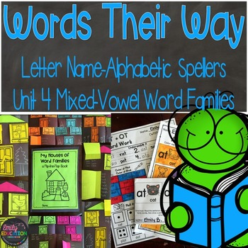 Words Their Way Letter Name Alphabetic Spellers Mixed-Vowel Word Families