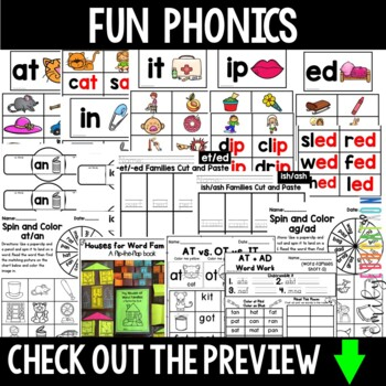 Words Their Way Letter Name Alphabetic Spellers Same-Vowel Word Families