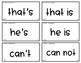 Words Their Way - LNAS Sort Words Unit 8