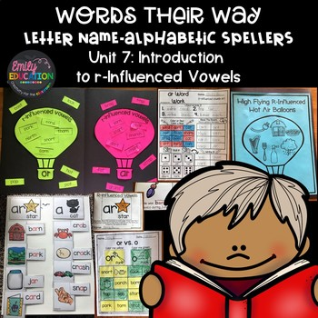 Words Their Way Letter Name Alphabetic Spellers Unit 7 R-Influenced Vowels