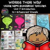 Words Their Way Letter Name Alphabetic Spellers Unit 7 R-I