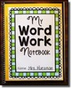 Words Their Way -- Letter Name Alphabetic Sorts (1-50) -- Word Sorting Notebook