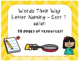 Words Their Way - Letter Naming Sort 7 - Additional Resources