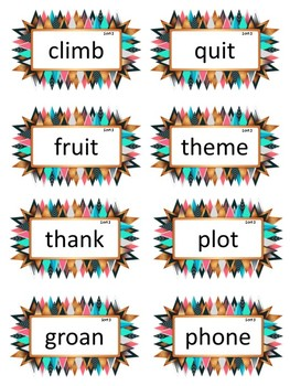 PRINT&GO Words Their Way Literacy Center Syllables & Affixes Sorts 1-11