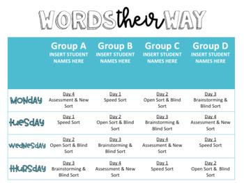 Words Their Way MEGA Bundle