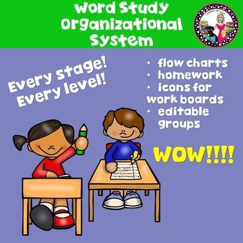 Words Their Way-Organization System