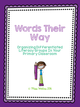 Words Their Way - PRIMARY PACKAGE