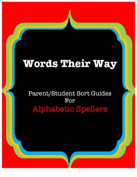 Words Their Way Parent/Student Guides, Red Book