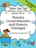 Words Their Way Phonics Comprehension and Fluency Passages--Alphabetic Spellers