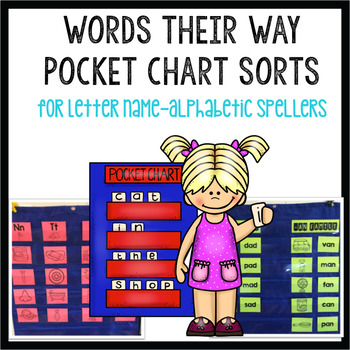 Words Their Way Pocket Chart Sorts 1-26