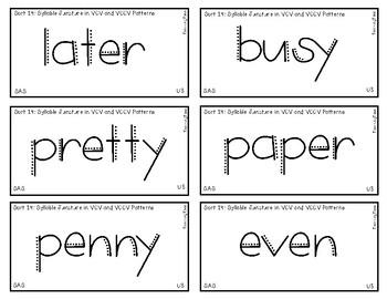 Words Their Way - SAS Sort Words Unit 3