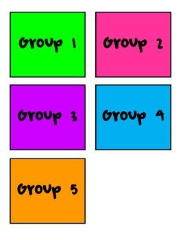 Words Their Way Schedule Cards