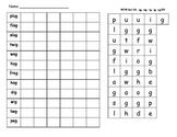 Words Their Way Sort 29 Letter Name Activities