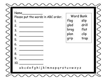 Words Their Way Sort 38 LN Activities