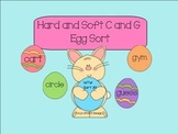 Hard and Soft c and g Egg Sort SMARTBoard