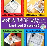 Words Their Way - 2nd Edition - Sort and Search Packet