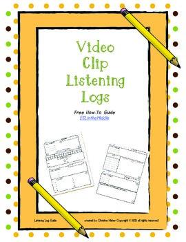 Free Video Clip Listening Logs
