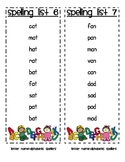 Words Their Way Spelling List- Letter Name Alphabetic Spellers