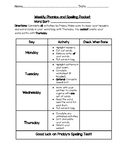 Words Their Way Student Activity Packet Cover Page