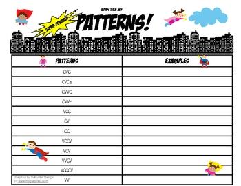 Words Their Way Super-Powered Patterns