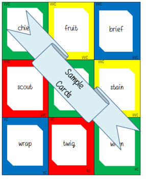 Words Their Way: Syllables & Affixes: Sort 1: Review of Vowel Patterns
