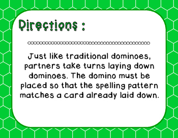 Words Their Way - Syllables and Affixes - Sort 17 Dominoes