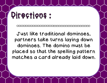 Words Their Way - Syllables and Affixes - Sort 24 Dominoes