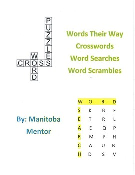 Words Their Way Syllables and Affixes Sorts 26-30