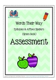 Words Their Way: Syllables and Affixes Spellers - Assessme