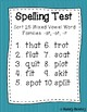 Words Their Way Take Home and Spelling Test Lists Letter Name Volume 2