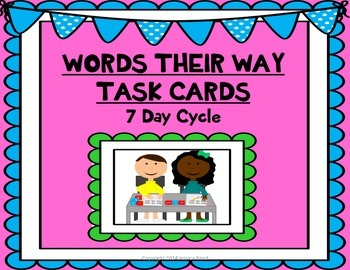 Words Their Way Task Cards