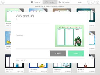 Words Their Way- WITHIN WORDS sorts 1-22 iPad STICK AROUND app