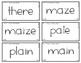 Words Their Way - WWPS Sort Words Unit 10