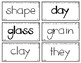 Words Their Way - WWPS Sort Words Unit 4