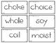 Words Their Way - WWPS Sort Words Unit 6