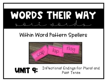 Words Their Way - WWPS Sort Words Unit 9
