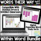 Words Their Way Within Word Digital Sorts | Google Classroom