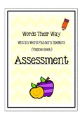 Words Their Way: Within Word Pattern Spellers - Assessment