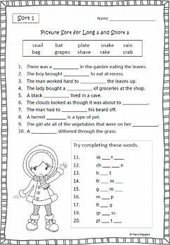 Within Word Pattern Games & Activities (Unit1) Short & Long Vowels