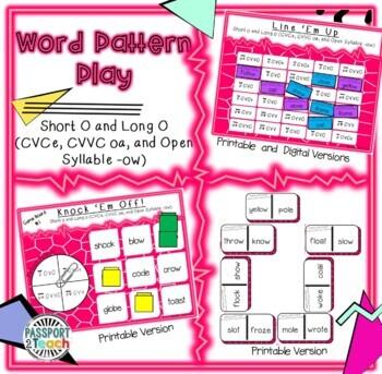 Words Their Way - Within Word Pattern - Sort 20 Dominoes