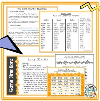 Words Their Way - Within Word Pattern - Sort 24 Dominoes