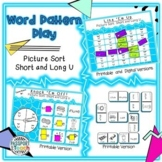 Words Their Way - Within Word Pattern - Sort 4 Connect Four