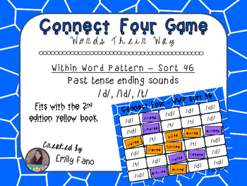 Words Their Way - Within Word Pattern - Sort 46 Connect Four