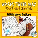 Words Their Way - Within Word Pattern Sort and Search