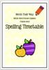 Words Their Way: Within Word Pattern Spellers Bundle